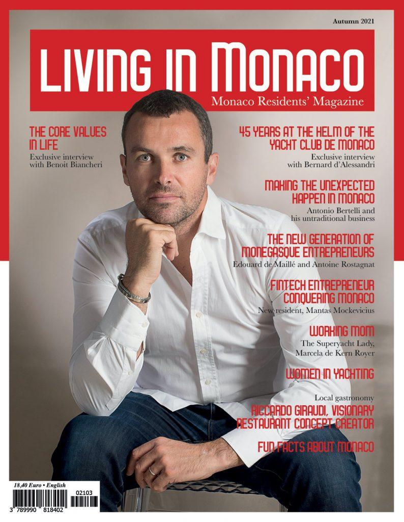 Monaco Residents Magazine - Benoit Biancheri